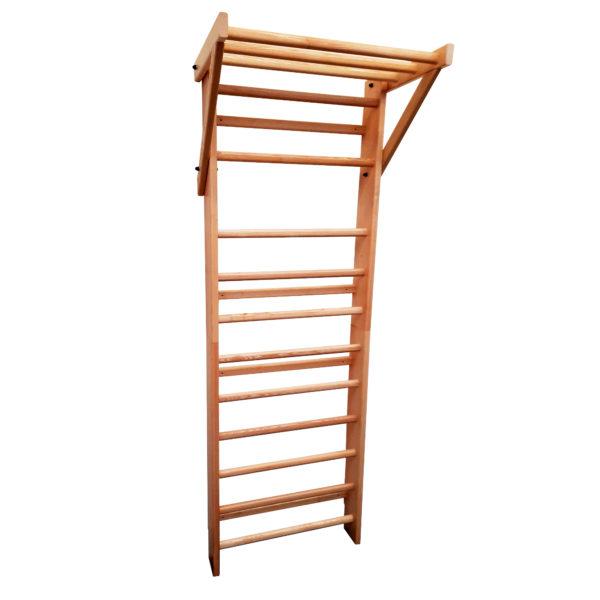 espalier 11 barreaux avancée bois frêne