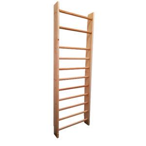11 barreaux seul espalier bois