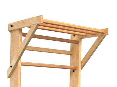 avancée espalier bois classique
